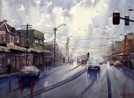 Joe Cartwright水彩风景绘画教学视频