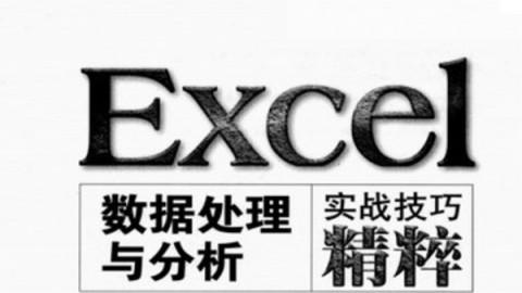 Excel数据处理与分析教程