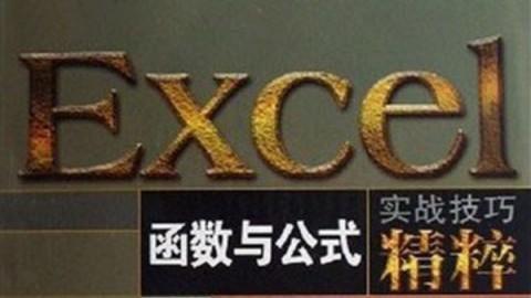 Excel函数与公式实战技巧
