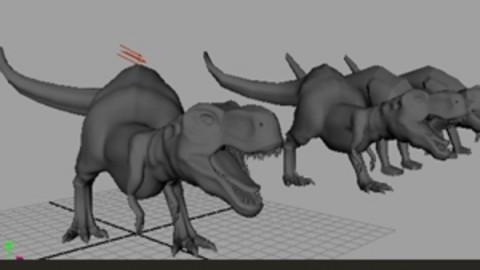 maya 动物模型制作教程