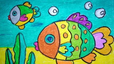 儿童绘画入门 图片