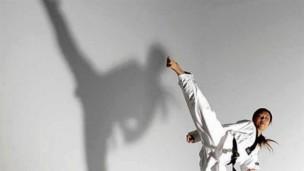 跆拳道品势教学(太极1-8章,高丽,金刚,太白)