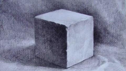 石膏几何体 正方形1 雷亚图片