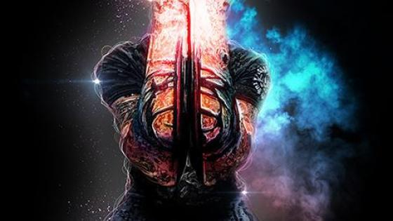 炫酷人物霓虹粒子光线魔法烟雾特效教程