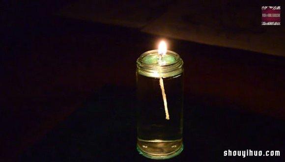 【diy手工制作方法教程】自制超有情调的水蜡烛-diy