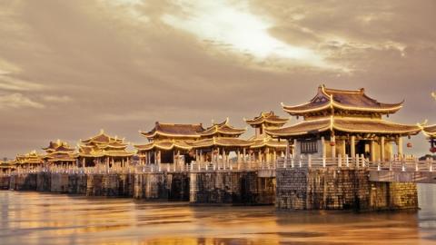 《中国古建筑》